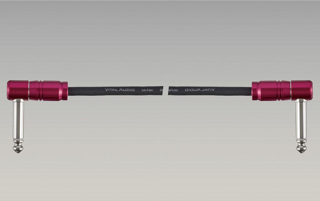【ポイント2倍】【メール便発送・全国送料無料・代金引換不可】VITAL AUDIO VA-Patch-F-0.4m L/L [40cmL/L] パッチコード パッチケーブル【smtb-TK】