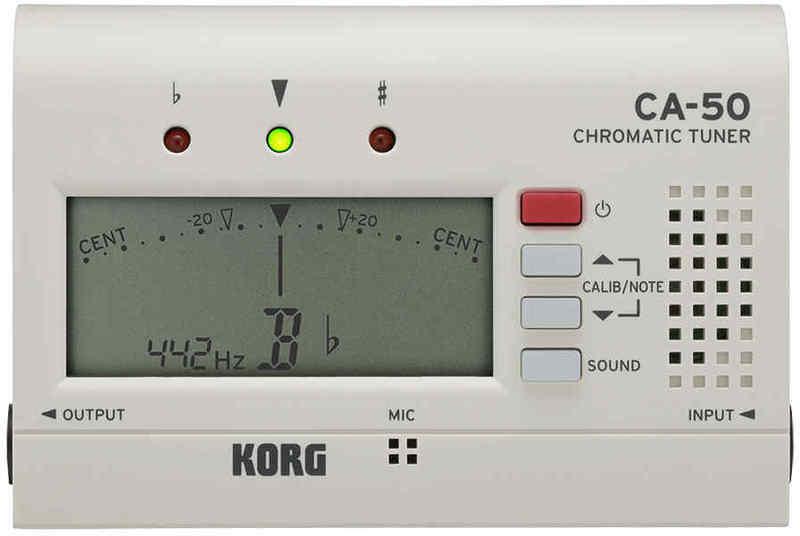 【ポイント2倍】【メール便発送・全国送料無料・代金引換不可】コルグ KORG CA-50 クロマチックチューナー【smtb-TK】