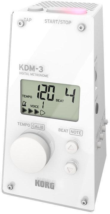 【ポイント2倍】【送料無料】コルグ KORG KDM3-WH デジタル・メトロノーム KDM-3 WHITE【smtb-TK】