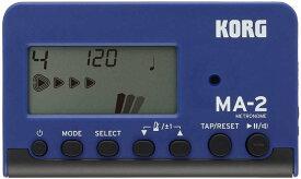 【ポイント2倍】【メール便発送・全国送料無料・代金引換不可】コルグ KORG MA-2-BLBK カード型 電子メトロノーム【smtb-TK】