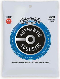 MARTIN MA540×5 [12-54] AUTHENTIC ACOUSTIC SP/Light アコースティックギター弦【メール便発送・全国送料無料・代金引換不可】【smtb-TK】【ポイント2倍】