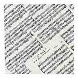【ポイント2倍】【メール便発送・全国送料無料・代金引換不可】NAKANO BGE260F アイネクライネ 音符柄 風呂敷[90cm x 90cm]【smtb-TK】