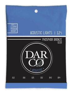 DARCO D220×1 [12-54] ACOUSTIC PHOSPHOR BRONZE/Light アコースティックギター弦【ポイント2倍】【メール便発送・全国送料無料・代金引換不可】【smtb-TK】
