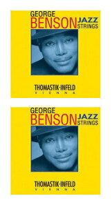 Thomastik-Infeld GB112/2セット Nickel Flat Wound George Benson シグネチャー エレキギター弦 [12-53]【メール便発送・全国送料無料・代金引換不可】【smtb-TK】