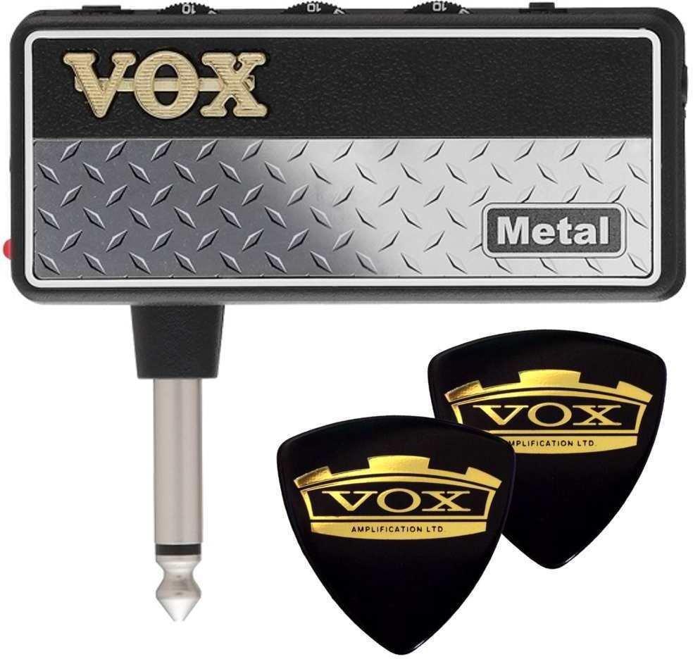 【ポイント2倍】【メール便発送・全国送料無料・代金引換不可】ヴォックス VOX AP2-MT+VOXピック2枚 amPlug2 Metal【smtb-TK】