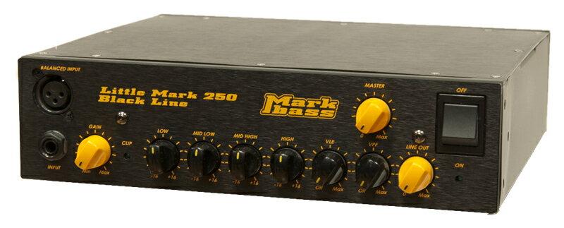 【ポイント2倍】【送料無料】マークベース Markbass Little Mark 250 Black Line(MAK-LM250/BK) ベースアンプヘッド 【smtb-TK】