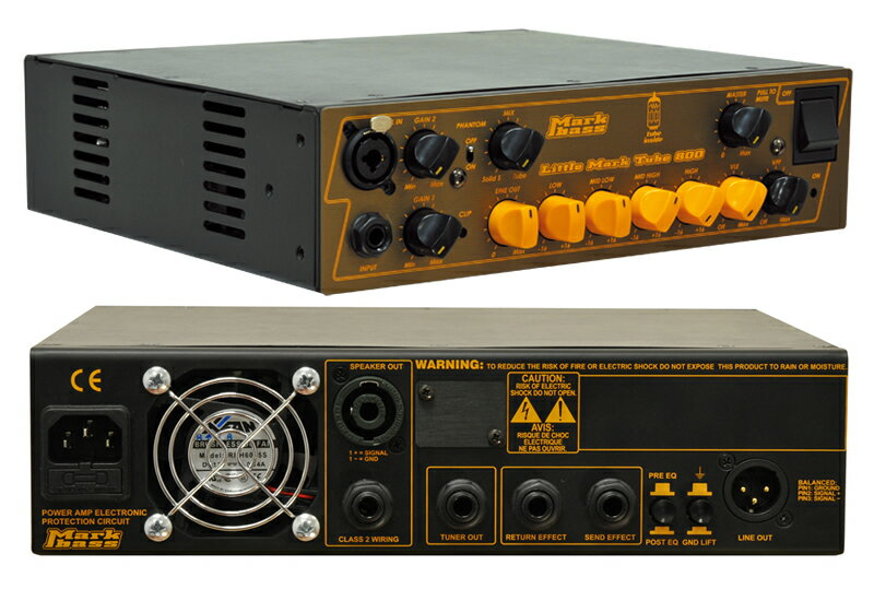 【ポイント10倍】【送料無料】マークベース Markbass Little Mark Tube 800(MAK-LMT800) ベースアンプヘッド 【smtb-TK】