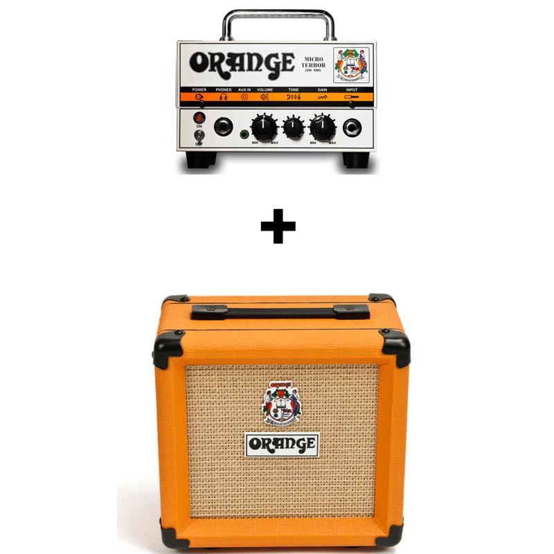 【ポイント2倍】【送料無料】オレンジ Orange Micro Terror + PPC108/スピーカーケーブル付【smtb-TK】