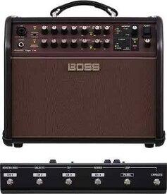 【ポイント2倍】【送料無料】ボス BOSS ACS-LIVE+フットコントローラー/GA-FC Acoustic Singer Live Acoustic Amplifier アコースティック・ステージ・アンプの新定番【smtb-TK】