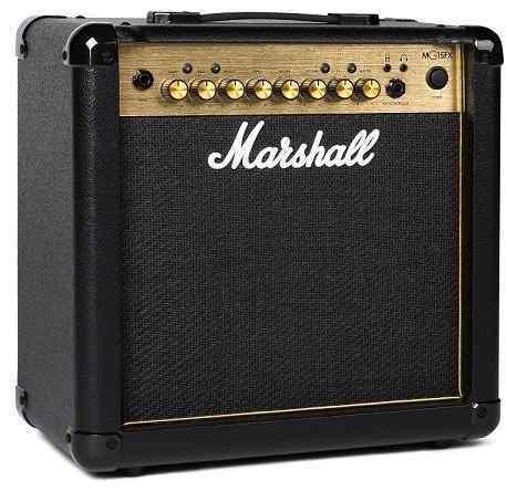 【限定Marshallピック2枚付】【送料無料】マーシャル Marshall MG15FX Gold 15Wのコンパクトアンプ【正規輸入品】【smtb-TK】【ポイント6倍】