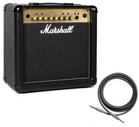 【限定Marshallピック2枚付】マーシャル Marshall MG15FX Gold(シールド付) 15Wのコンパクトアンプ【正規輸入品】【smtb-TK】【ポイント13倍】【送料無料】