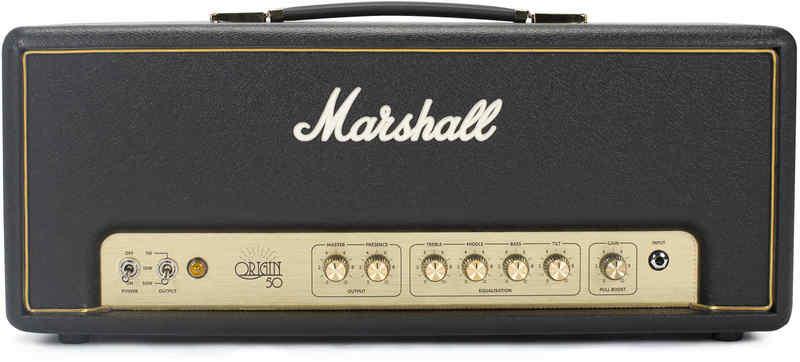 【限定Marshallピック2枚付】【送料無料】Marshall Origin50H 真空管アンプ アンプヘッド【正規輸入品】【国内正規品】【smtb-TK】【ポイント11倍】
