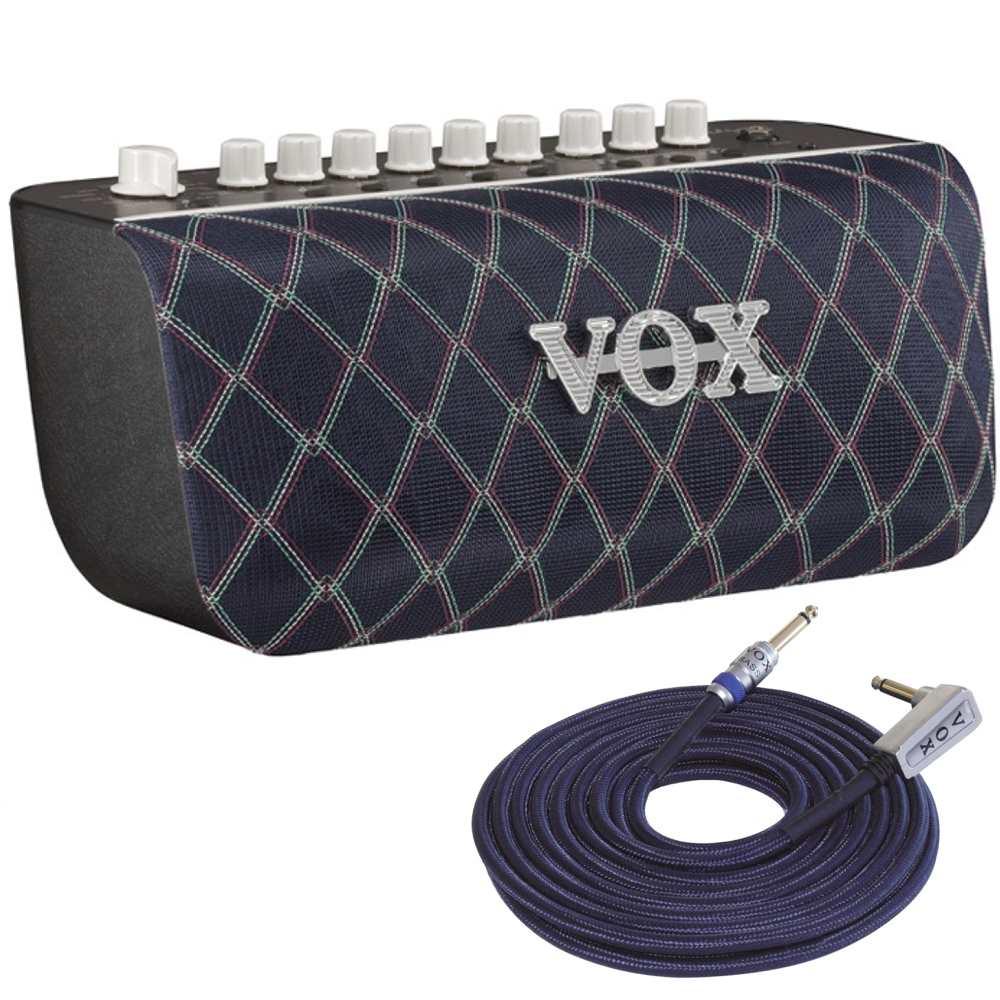 【ポイント2倍】【送料無料】VOX Adio Air BS + VBC13(VOXシールド4m) Bluetooth搭載 50W ベース用 モデリング・アンプ/オーディオ・スピーカー【smtb-TK】
