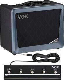 VOX VX50-GTV/フットスイッチ/VFS5付 モデリング・テクノロジー 新世代真空管Nutube搭載 ギター・アンプ【smtb-TK】【送料無料】【ポイント2倍】