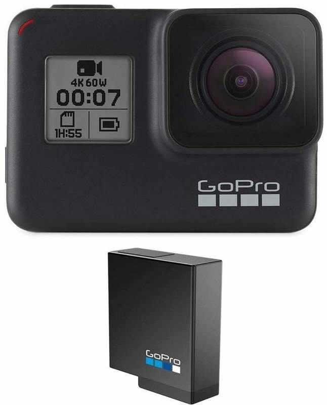 【ポイント2倍】【送料無料】GoPro CHDHX-701-FW + AABAT-001-AS HERO7 Black ウェアラブル・カメラ/追加バッテリー付【smtb-TK】