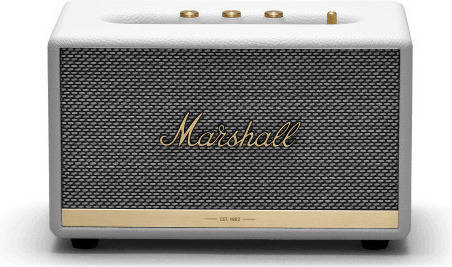 Marshall ZMS-1001901 Acton II Bluetooth White Bluetooth5.0 搭載 コンパクト オーディオ スピーカー【国内正規品】【送料無料】【smtb-TK】【ポイント2倍】