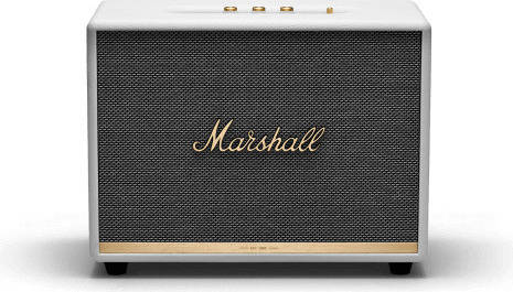 Marshall ZMS-1001905 Woburn II Bluetooth White Bluetooth5.0 搭載 コンパクト オーディオ スピーカー【国内正規品】【送料無料】【smtb-TK】【ポイント2倍】
