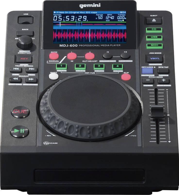 【ポイント2倍】【送料無料】ジェミナイ gemini MDJ-600 CD / USB メディアプレーヤー【smtb-TK】