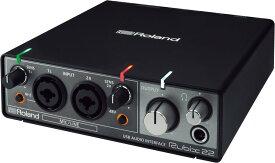 Roland Rubix22【送料無料】ローランド USBオーディオ・インターフェース 2in/2out、最大24bit/192kHz対応【smtb-TK】【ポイント7倍】