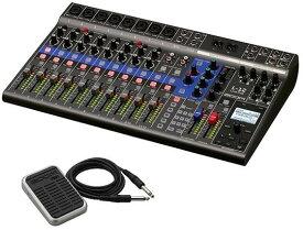 【送料無料】ズーム ZOOM LiveTrak L-12(フットスイッチ/FS01付) ライブ演奏のミックスとレコーディングに【smtb-TK】