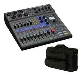 ZOOM LiveTrak L-8(大きめ汎用ギグケース/EFS40付) ポッドキャストに、ミュージックにライブミキサー&レコーダー【送料無料】【smtb-TK】