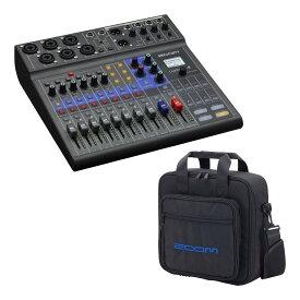 ZOOM LiveTrak L-8(専用キャリングバッグ/CBL-8付) ポッドキャストに、ミュージックにライブミキサー&レコーダー【送料無料】【smtb-TK】