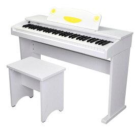 artesia FUN-1 WH(ホワイト) オールインワン 61鍵盤 キッズピアノ デジタルピアノ【ポイント5倍】【送料無料】【smtb-TK】