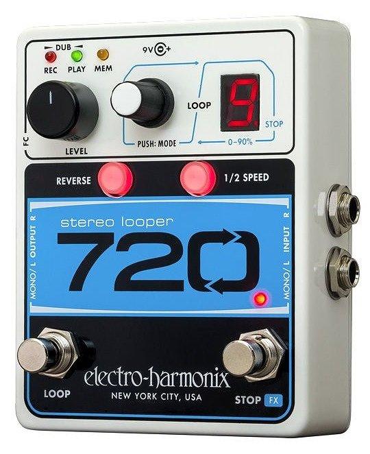 【ポイント2倍】【送料無料】ELECTRO HARMONIX 720 Stereo Looper ペダル ルーパー 【国内正規品】【smtb-TK】