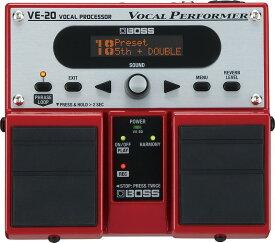 【ポイント10倍】【送料無料】ボス BOSS VE-20 ボーカルのサウンド・クオリティを上げるボーカル専用エフェクター【smtb-TK】