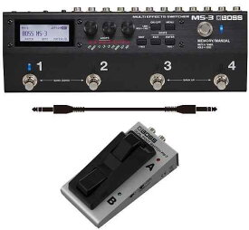 【ポイント2倍】【送料無料】ボス BOSS MS-3(フットスイッチ/FS-7+audio-technica製接続ケーブル付) Multi Effects Switcher スイッチャー 進化した統合型ペダルボード・ソリューション【smtb-TK】