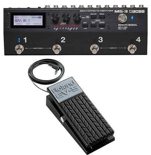 【ポイント2倍】【送料無料】ボス BOSS MS-3(エクスプレッションペダル/EV-5付) Multi Effects Switcher スイッチャー 進化した統合型ペダルボード・ソリューション【smtb-TK】