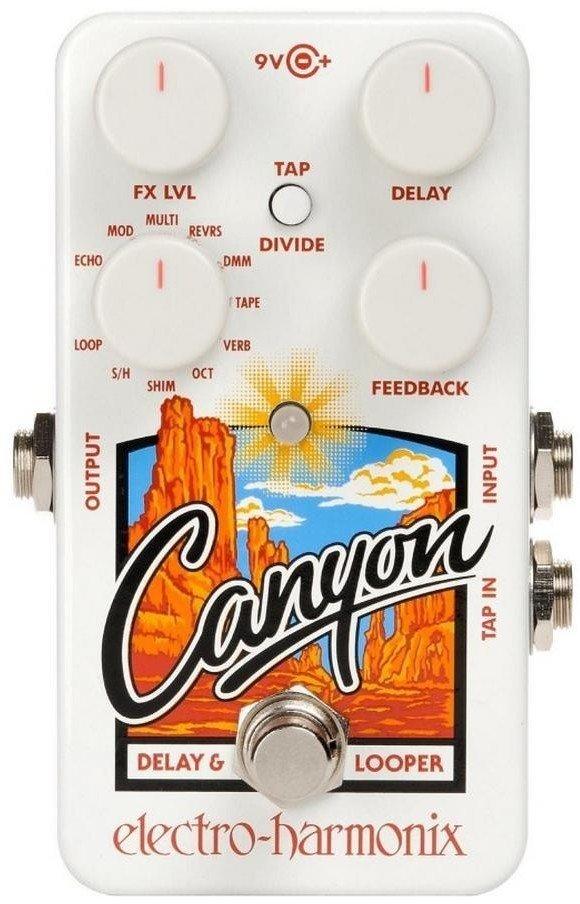 【ポイント2倍】【送料無料】ELECTRO HARMONIX Canyon Delay & Loopers ディレイ & ルーパー【smtb-TK】