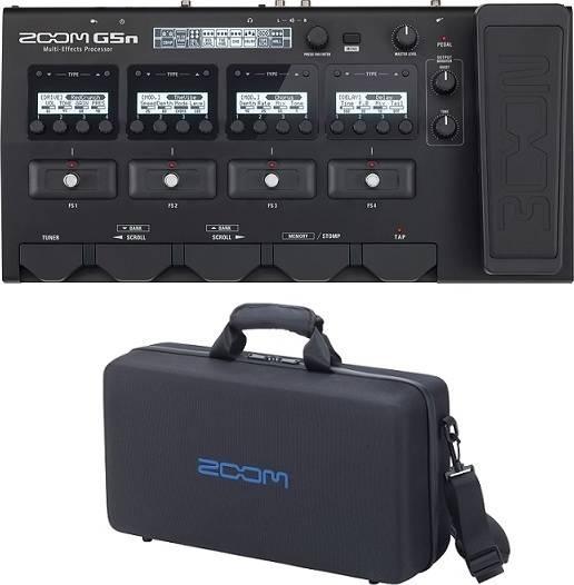 【限定ZOOMピック2枚付】ZOOM G5n Ver.3.0+CBG-5n(純正セミハードタイプキャリングバッグ)【送料無料】ズーム 【smtb-TK】