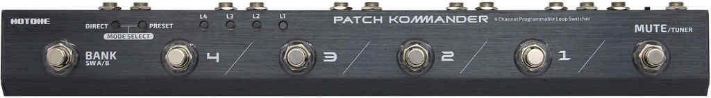【ポイント2倍】【送料無料】HOTONE PATCH KOMMANDER LS-10 プログラマブル・ループ・スイッチャー【smtb-TK】
