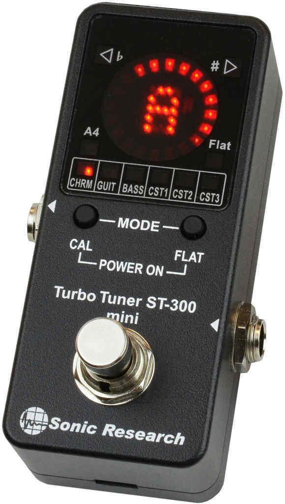 【ポイント2倍】【送料無料】Sonic Research Turbo Tuner ST-300 mini 超高性能ストロボ・チューナー【smtb-TK】