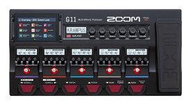 【限定ZOOMピック2枚付】ZOOM G11 DSP搭載モデリングマルチエフェクター【ポイント7倍】【送料無料】【smtb-TK】