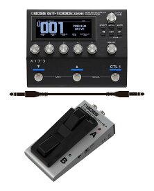 BOSS GT-1000CORE+フットスイッチ/FS-7+接続ケーブル 最高峰のサウンド・クオリティと高い柔軟性を備えたギター/ベース・エフェクト・プロセッサー ボス【smtb-TK】【送料無料】