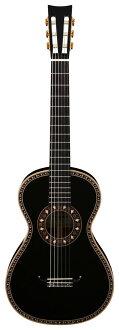 Aria ARIA A19C-200N/BK (with hard case) 19-century guitar / nylon string