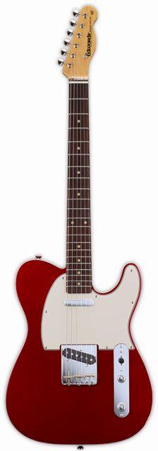 【送料無料】edwards E-TE-98CTM Candy Apple Red テレキャス タイプ エレキギター【smtb-TK】