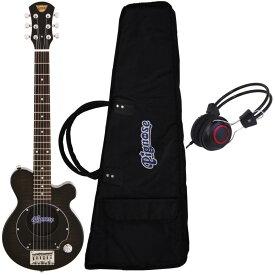 【ポイント2倍】【送料無料】ピグノーズ Pignose PGG-200/FM SBK+ヘッドホン アンプ内蔵ギター【smtb-TK】