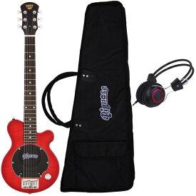 【ポイント2倍】【送料無料】ピグノーズ Pignose PGG-200/FM SR+ヘッドホン アンプ内蔵ギター【smtb-TK】