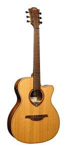 LAG Guitars T170ACE エレアコ フォークタイプ カッタウェイ付【送料無料】【smtb-TK】【ポイント5倍】
