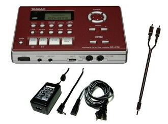 塔斯凸轮TASCAM CD-GT2(附带AC适配器+连接电缆)手提式CD吉他教导员