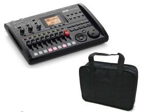 ズーム ZOOM R8(汎用ソフトケース付) 2tr同時録音/8tr同時再生/B5サイズ・コンパクト・マルチトラック・レコーダー【送料無料】【smtb-TK】