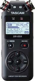 TASCAM DR-05X ハンドヘルドレコーダー【送料無料】【smtb-TK】【ポイント6倍】