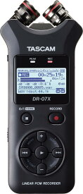 TASCAM DR-07X ハンドヘルドレコーダー【送料無料】【smtb-TK】【ポイント6倍】