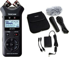 TASCAM DR-07X(アクセサリーパッケージ/AK-DR11GMK2付) ハンドヘルドレコーダー【送料無料】【smtb-TK】【ポイント2倍】