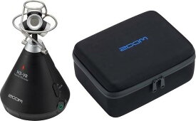 ZOOM H3-VR(専用キャリングバッグ/CBH-3付) ズーム 360°Virtual Reality Audio Recorder ASMR配信などに 360度レコーダー【送料無料】【smtb-TK】