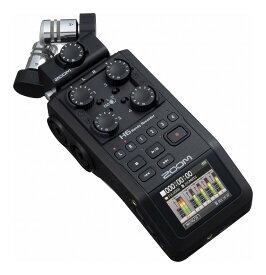 ZOOM H6/BLK マイク交換ハンディレコーダー ブラック・エディション【ポイント5倍】【送料無料】【smtb-TK】