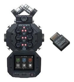 ZOOM H8+BTA-1/Bluetoothアダプタ アプリベースの多目的ハンディレコーダー【送料無料】【smtb-TK】【ポイント2倍】